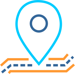 Location-line-draw-miligram-it-icon